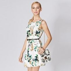 O.SA - Sleeveless Floral Dress