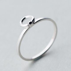 A'ROCH - Circle 925 Sterling Silver Open Ring
