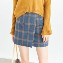 AC - Plaid Pencil Skirt