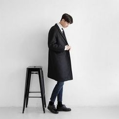 Seoul Homme - Single-Breasted Coat