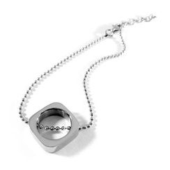 Kamsmak - Circle meets square bracelet
