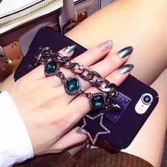 SUGOI - Jeweled iPhone 6 / 6 Plus / 6S / 6S Plus / 7 / 7 Plus Case