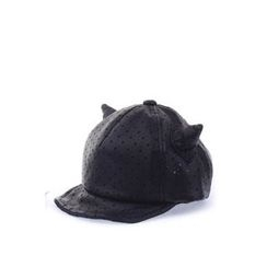 Ohkkage - Kids Cat-Eat Star Perforated Baseball Cap