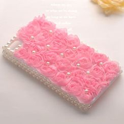 Fit-to-Kill - Roses And Pearl iPhone 4/4s Case