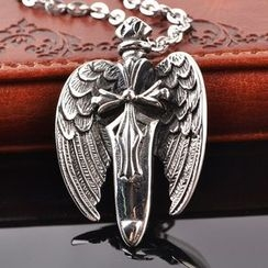 Trend Cool - Sword with Wings Necklace