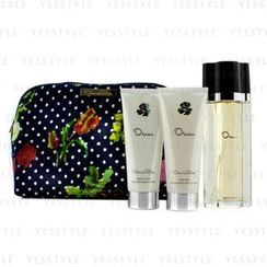 Oscar De La Renta - Oscar Coffret: Eau De Toilette Spray 100ml/3.4oz + Body Lotion 100ml/3.4oz + Body Gel 100ml/3.4oz + Cosmetic Bag