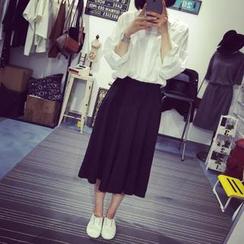QZ Lady - Chiffon Maxi Skirt
