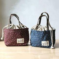 Ms Bean - Drawstring Lunch Box Bag