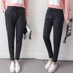 OYANA - Plain Harem Pants