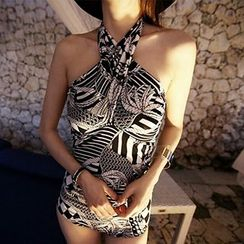DJ Design - Patterned Swimsuit