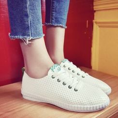 Laceuplux - Pointelle Sneakers