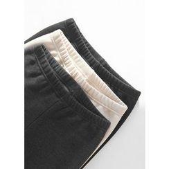 J-ANN - Brushed-Fleece Leggings