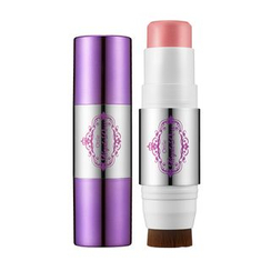 Ottie - Purple Dew Stick Blusher (#01 Milky Pink)