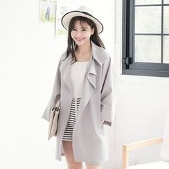 Tokyo Fashion - Open Front Trench Jacket