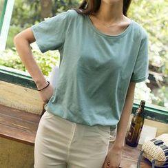 Wimi girls - Short-Sleeve Round-Neck T-Shirt