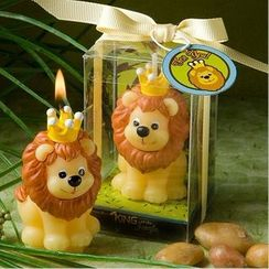 Mulin Arts & Crafts - Lion Candle