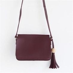QNIGIRLS - Tasseled Shoulder Bag
