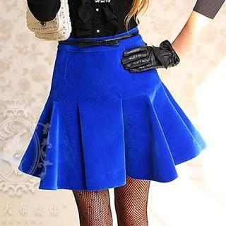 Dabuwawa - Ruffled A-Line Skirt
