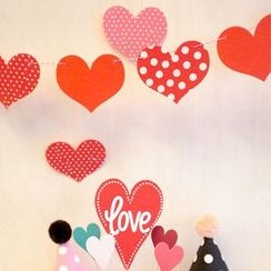 OH.LEELY - Heart Decorative Bunting