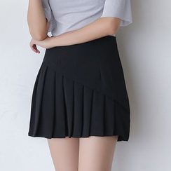 Sens Collection - Pleated A-line Skirt