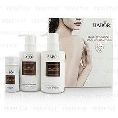 BABOR - SPA Balancing Cashmere Wood Coffret: Shower Milk 200ml + Body Lotion 200ml + Massage Oil 50ml