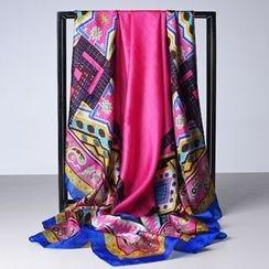 羚羊早安 - 印花圍巾