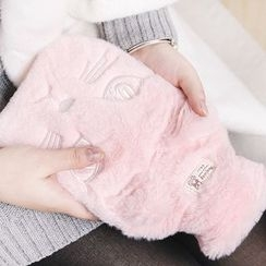 Class 302 - Cat Fluffy Hot Water Bottle