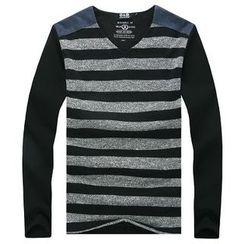 Lutai - Striped Pullover