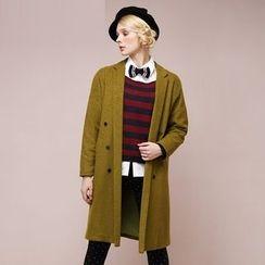 Qiuke - Buttoned Coat