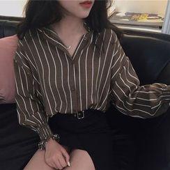 Cloud Nine - Striped Long-Sleeve Shirt
