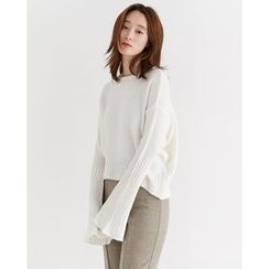 Someday, if - Dolman Bell-Sleeve Knit Top