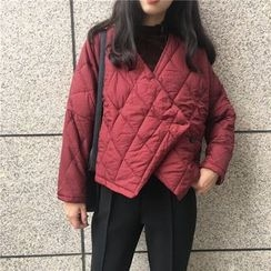 Chililala - Quilted Asymmetric Jacket