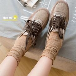 MITU - Pointelle Socks