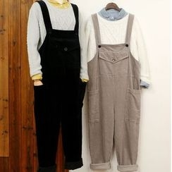 tete - Corduroy Jumper Pants