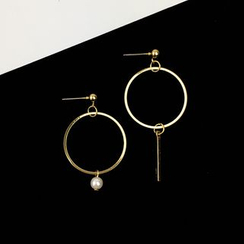 HEDGY - Asymmetric Drop Earrings