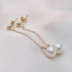 ViVi Pearl - 淡水珍珠耳坠