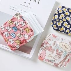 VANDO - 可爱布艺大容量卫生巾收纳包