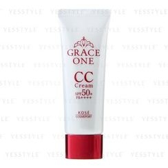 Kose - Grace One CC Cream UV SPF 50+ PA++++ (#01 Natural)