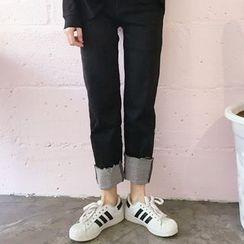 YUKISHU - Roll Hem Jeans