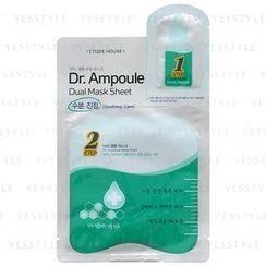 Etude House - Dr. Ampoule Dual Mask Sheet (Soothing Care)