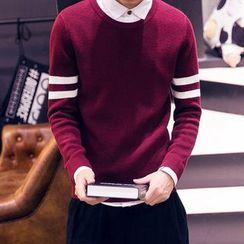 Fisen - Stripe Knit Top