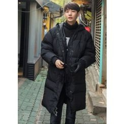 GERIO - Duck Down Padded Long Coat