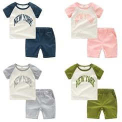 WellKids - Kids Set: Printed T-Shirt + Shorts