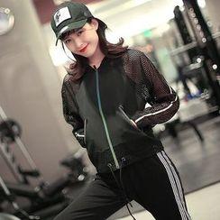 Quintina - Sports Mesh Zip Jacket