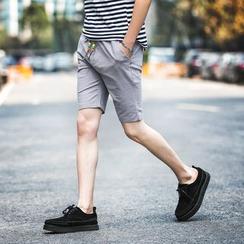 Jazzcool - 纯色短裤