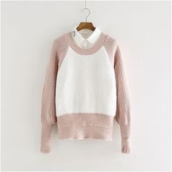 Storyland - Paneled Sweater
