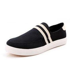 NOVO - Striped Slip-Ons