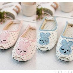 iswas - Rabbit Dotted Slippers