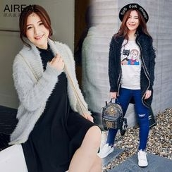 AIREAL - Furry Knit Jacket