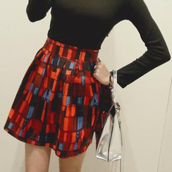 REDOPIN - A-Line Pleated Skirt